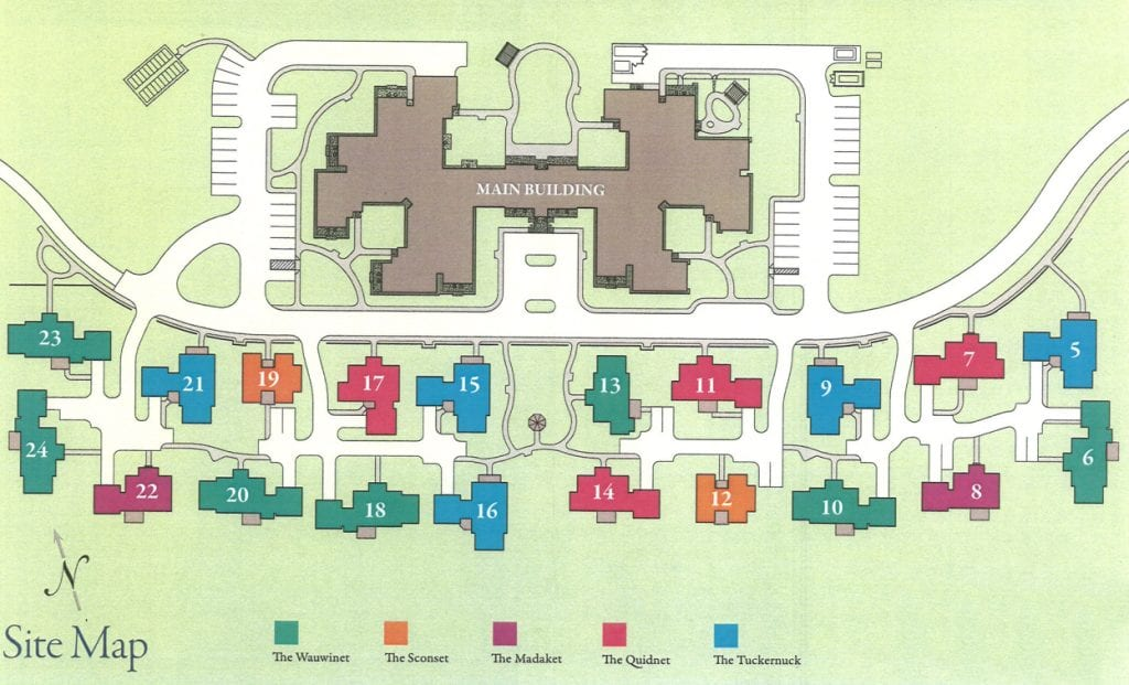 Sherburne Commons site map